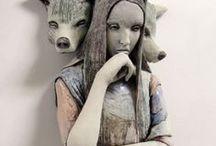 Figurative Ceramics Art / by Tara