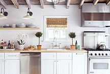 KITCHENS / Kitchen style / by LITTLE PAPER LANE