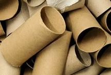 Toilet & Paper Towel Roll Crafts