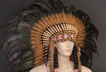 Indian head dresses / Native American head dress