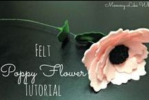 Flower-making Tutorials / Tutorials for all types of flowers