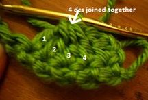 Crochet Stitches / Variety of crochet stitches / by Chandrayee Biswas