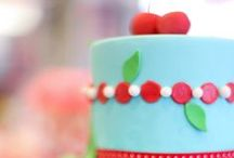 Cherry Party / Inspiration for a retro 50's diner party! With an accent of cherries of course.