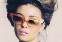 Specs / sunnies, eyeglasses, and other accessories for the face!