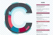 Infographic Resumes / A collection of  interesting Infographic resumes.