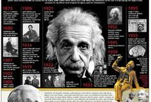 Scientists Infographics / A board created to highlight some of the greatest names in Science History. All infographics here were featured on Visual Loop (http://visualoop.tumblr.com). / by Visual Loop