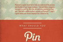 Pinterest Infographics / We'll be gathering here Infographics about Pinterest, that were published on Visual Loop (http://visualoop.tumblr.com).