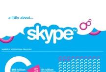 Skype infographics