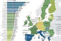Euro crisis infographics