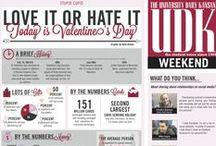 Valentine's Day Infographics
