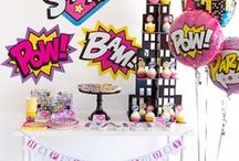 DIY Girl Party Ideas / A collection of all DIY Girl Party Ideas by Lindi Haws of Love The Day!