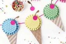 Ice Cream Party Ideas / A collection of the worlds best ice cream treat, ice cream games, ice cream cakes and ice cream party ideas!