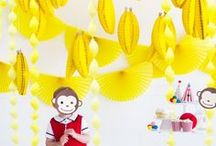 DIY Boy Party Ideas / A collection of all things BOY and how to celebrate your little one's boy birthday.