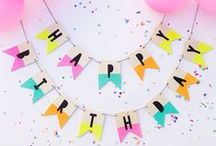 DIY Party Ideas / A collection of DIY Party Ideas and tutorials!