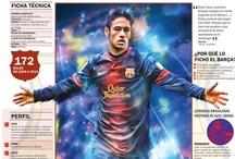 Barcelona F.C. Infographics