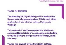 Trance Mediumship / Dedicated to various aspects of Physical Mediumship: Trance Mediumship, Channelling, Physical Phenomena, Seances, Automatic Writing.