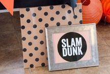 Basketball Party / Perfect pins to throw and epic Basketball Party.  / by Love The Day