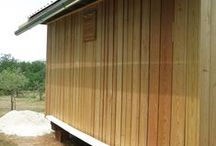 Rovinjsko Selo by vastuspace / Project of a modular prefabricated building delivered and assembled at the site, in an olive orchard by the Adriatic Sea / Rovinjsko Selo, Croatia 2014