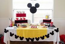 Mickey Mouse Party Ideas / A collection of the best Mickey Mouse Party Ideas from around the fabulous web.