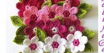 Horgolás-Virágok