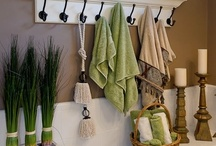 Inspiration for my Bathroom: Upstairs / by Anecia Jensen