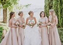 GBN BRIDESMAIDS / Photos of our most popular GBN style - the Signature Multiway Dress. This multiway design is the perfect solution for bridesmaids with different body types - each can wrap and style their dress to optimise their comfort and taste!
