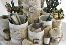 Inspiration For My Craft Room / by Anecia Jensen