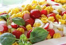 Salaattireseptit / Herkullisimmat salaattireseptimme tarjoavat paitsi silmänruokaa myös vaihtelua resepteihisi.