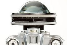 Cameras / The evolution of camera technology and cultural icons with their cameras.