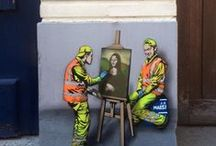 Street Art / Surprising, rewarding and thought-provoking Art for streets and public spaces.