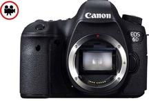 Canon EOS 6D / Full-HD Video Full Frame 20.2 Mega Piksel CMOS 5+ Sensör ISO 25.600 ISO 11 noktalı AF, -3EV değerine kadar hassastır. GPS konumunuzun kaydı. Wi-Fi dosya aktarımı ve uzaktan kontrol.