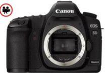 """Canon EOS 5D Mark II / Full HD (1080, 30 kare/sn) film kaydı  21,1 MP tam kare CMOS sensör  DIGIC 4 işlemciISO aralığı 25600′e genişletilebilir  Canlı Görüş ile yüksek çözünürlüklü 3,0"""" VGA LCD  Kart kapasitesiyle sınırlı 3,9 kare/sn JPEG çekimi  9 noktalı AF + 6 Yardımcı AF noktası Magnezyum alaşımlı gövde"""