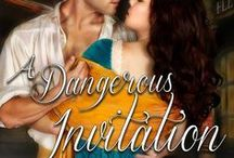 A Dangerous Invitation / Book 1 of the Rookery Rogues dark, gritty historical romantic suspense series set in 1830's London. Available in e-book and paperback. FMI: http://ericamonroe.com/book/a-dangerous-invitation-2/