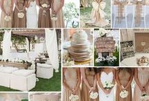 WEDDING THEMES / Inspiration for all of the themes and colours you can imagine!
