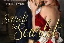 Secrets in Scarlet / Book 2 of the Rookery Rogues, a dark, gritty historical romance series set in 1830's London. Available in e-book and paperback. FMI: http://ericamonroe.com/book/secrets-in-scarlet-2/