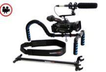 SmoothCam Support / Profesyonel kameralarla ve HDSLR makinalarla sarsıntısız mükemmel çekimler yapmak için kullanışlı bir destekleyici.  Birçok modele uyumlu çalışma: Black Magic Sinema Kamera, Canon 5D, Canon 6D, Canon 7D, Canon 550 D, 60 D ve diğer DSLR modeller.  5 kg'ye kadar taşıma kapasitesi  Rezervasyon & Bilgi için: 0533 548 70 01 info@filmekipmanlari.com http://filmekipmanlari.com/kiralik-omuz-aparati-smoothcam-support/
