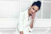 summer whites / june 2014 / cool, calm, and quietly commanding, these outfits are like breaths of fresh air for your closet.