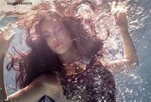 le angelique | underwater hair