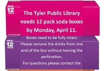 Tyler Public Library / Founded in 1899 as a subscription library by the Tyler Federation Of Women's Clubs, the Tyler Public Library is a community treasure trove of activities, services, and ideas. Check us out!