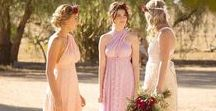 GBN LACE BRIDESMAIDS / Convertible Bridesmaid Dresses in Lace