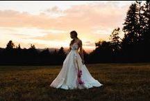 2016 Bridal Collection: My Wild Love / Photos: JonDuenas.com MUAH: ChristineShieldsPhoto.com Florals: SelvaFloralDesign.com Model: Lexi@ReactionModels.com Model: Courtney Bryant @OptionModelandMedia.com