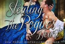 Stealing the Rogue's Heart / Book four of the Rookery Rogues series. Dark, gritty historical romantic suspense set in 1830's London. Available in e-book and paperback. FMI: http://ericamonroe.com/book/stealing-the-rogues-heart/