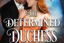 The Determined Duchess / Book 2 of the Gothic Brides novella series.  Available in Charmed at Christmas, Christmas at Castle Keyvnor series.