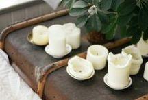 Candles / by Jillian Ponsonby
