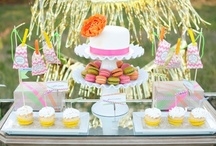 Celebrate | Dessert Table Love / by Haute Chocolate | Rachel Rouhana