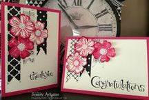 cards/flowers / by Kathy Cerny