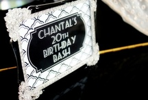 Celebrate | Black, White & Glam Party / by Haute Chocolate | Rachel Rouhana