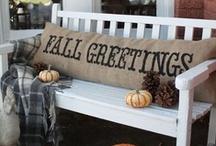 Fall Greetin' / by Apalachee Livin'