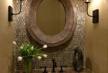 Bath / Lots of great ideas for the bathroom.   / by Linda Clark