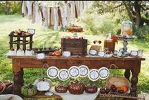 Celebrate | Fall Birthday Party Ideas / by Haute Chocolate | Rachel Rouhana